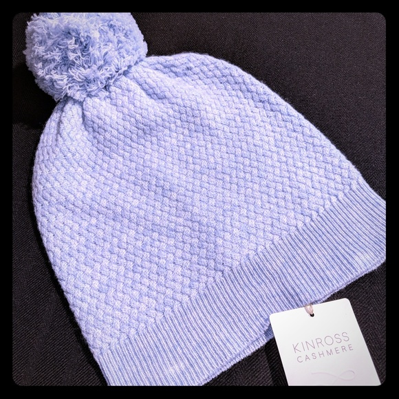 03c881a396f Kinross cable hat with pompom